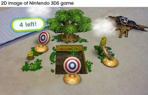 2D bild av nintendo 3DS